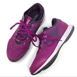 Reebok Easytone Magenta Athletic Running Shoes
